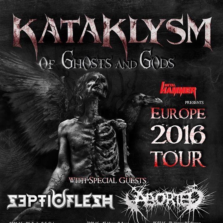 Kataklysm Tour Poster